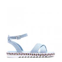Dámské světle modré sandály Aviona 6129