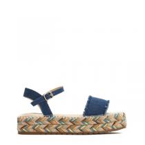 Dámské tmavě modré sandály na platformě Nikita 8246