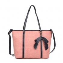 Dámská růžová kabelka Elza 5259