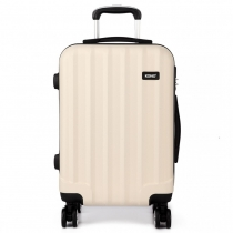 Dámský velký béžový kufr Trip 1773