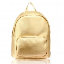 Dámský zlatý batoh Tanisha 524