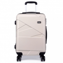 Dámský malý béžový kufr Rotta 1772L