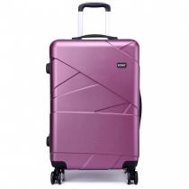 Dámský střední fialový kufr Rotta 1772