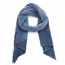 Dámský námořnicky modrý šátek Susi 009
