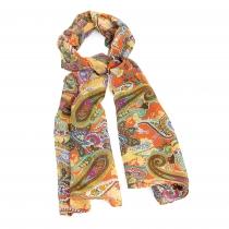 Dámský oranžový šátek Mecha 31271