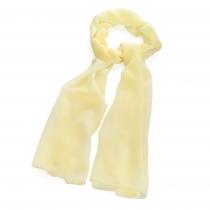 Dámský světle žlutý šátek Annie 31283