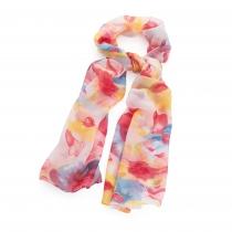 Dámský růžový šátek Chali 31286
