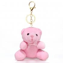 Růžový přívěšek Teddy 1017