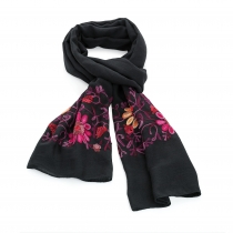 Dámský černý šátek Beautiful 31541