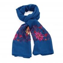 Dámský modrý šátek Beautiful 31540