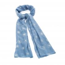 Dámský modrý šátek Baby 31537