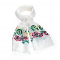 Dámský bílý šátek Astrid 31524