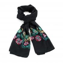 Dámský černý šátek Astrid 31522