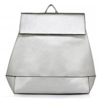 Dámský stříbrný batoh Sasha 435
