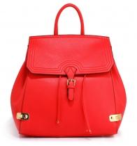 Dámský červený batoh Frida 513