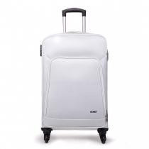 Dámský střední bílý kufr Damien 1774