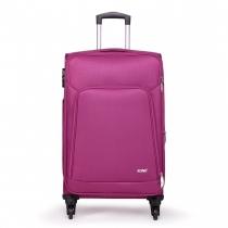 Dámský velký fialový kufr Damien 1774