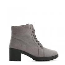 Dámské šedé kotníkové boty Lancey 6172