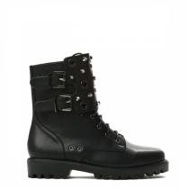 Dámské černé kotníkové boty Ozzy 9130