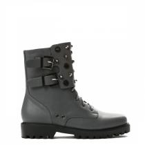 Dámské šedé kotníkové boty Ozzy 9130