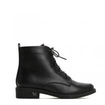 Dámské černé lesklé kotníkové boty Libertta 2131a