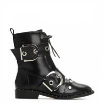 Dámské černé kotníkové boty Barry 8336