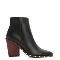 Dámské černé kotníčkové boty Wynn 9126