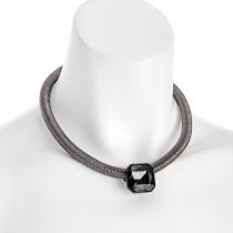 Náhrdelník v černé barvě Jewel 31462