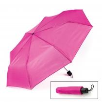 Tmavě růžový skládací deštník Ulla 29404
