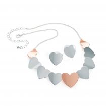SET: Barevný náhrdelník a náušnice Debbi 31425