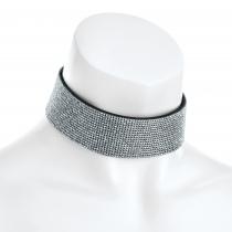 Stříbrný choker náhrdelník Lydia 31457