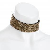 Zlatý choker náhrdelník Lydia 31458