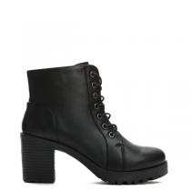 Dámské černé kotníkové boty Lexa 6167