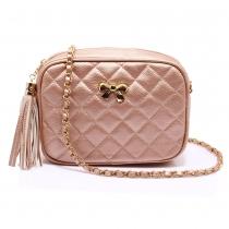 Dámská růžová kabelka Gisella 540