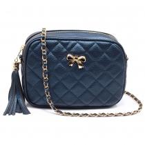 Dámská námořnicky modrá kabelka Gisella 540