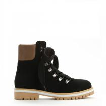 Dámské černé kotníkové boty Trey 9092