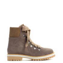 Dámské khaki kotníkové boty Trey 9092