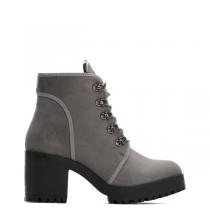 Dámské šedé kotníkové boty Georgie 2111