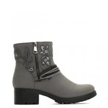 Dámské šedé kotníkové boty California 2125
