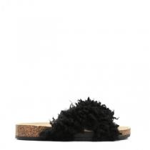 Dámské černé pantofle Ewe 114