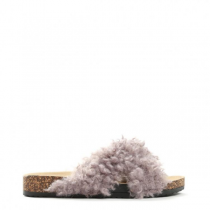 Dámské šedé pantofle Ewe 114