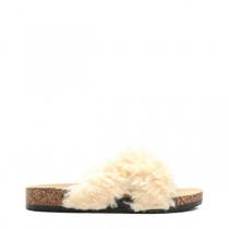 Dámské béžové pantofle Ewe 114
