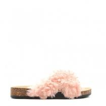 Dámské růžové pantofle Ewe 114