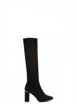Dámské černé kozačky Melrose 9114