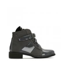 Dámské šedé kotníkové boty Daffy 3117