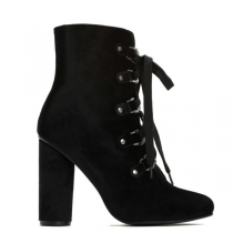Dámské černé kotníkové boty Honor 9071