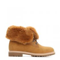 Dámské hnědé kotníkové boty Cami 030
