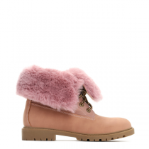 Dámské růžové kotníkové boty Cami 030