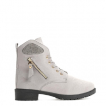 Dámské šedé kotníkové boty Khloe 818