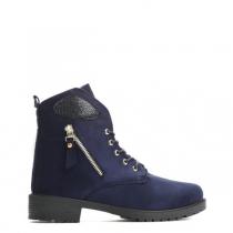 Dámské námořnicky modré kotníkové boty Khloe 818